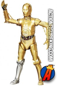 STAR WARS BLACK SERIES 6-Inch Scale Walgreen's Exclusive C-3PO Figure with Silver LEG.