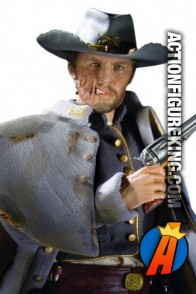 13 inch DC Direct fully articulated Jonah Hex action figure with authentic fabric outfit.