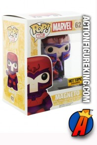 Funko Pop! Marvel Exclusive Variant Metallic MAGNETO Figure.