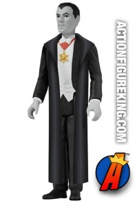 A packaged sample of this ReAction Count Dracula figure from Funko.
