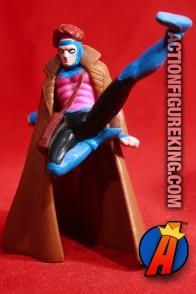Marvel Comics 1991 X-MEN GAMBIT PVC figure.
