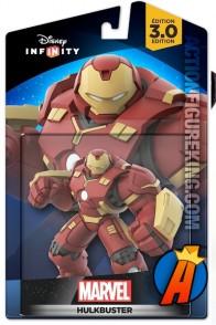 Disney Infinity 3.0 Hulkbuster Iron Man figure and gamepiece.