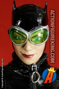 13 inch DC Direct fully articulated Catwoman action figure with authentic fabric outfit.