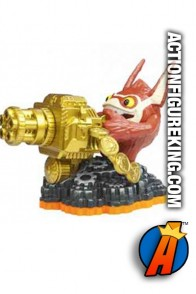 Skylanders Giants second edition Trigger Happy figure from Activision.