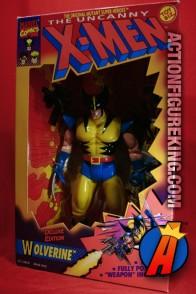 X-Men Deluxe 10-inch Wolverine action figure from Toybiz.