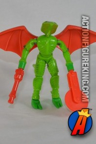 3.75-inch scale Micronauts Alien Invader Repto action figure from Mego.