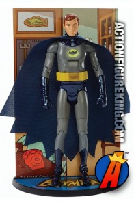 Unmasked BATMAN Classic TV Series 6-inch action figure from MATTEL.