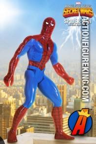 MARVEL SECRET WARS Jumbo 12-inch Scale SPIDER-MAN Action Figure.
