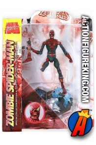 Marvel Zombies Spider-Man figure from Diamond Select.