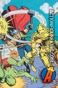 Rare Milton Bradley Marvel Super-Heroes jigsaw puzzle featuring The Avengers.