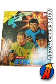 Vintage 1976 STAR TREK 150-piece jigsaw puzzle from AQUARIUS.