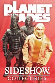 Sixth-Scale PLANET OF THE APES Action Figures from Sideshow Collectibles.