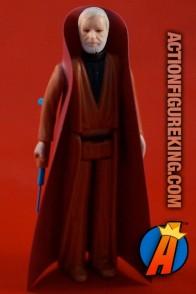 Vintage Star Wars Obi Wan Kenobi action figure (white hair version) from Kenner circa 1978.