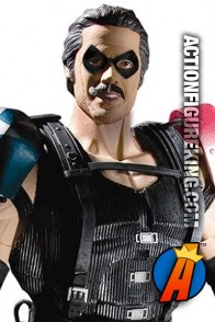 Fully articulated 13-Inch The Comedian action figure from DC Direct.