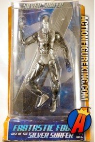 Sixth scale Rise of the Silver Surfer action figure from Hasbro.