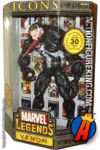 12 Inch Marvel Legends Unmasked Venom from their short-lived Icons series.