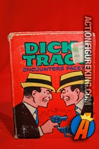 Dick Tracy Encounters Facey A Big Little Book from Whitman.