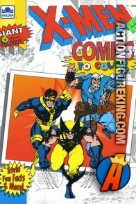 X-Men Comics To Color Golden Coloring Book.
