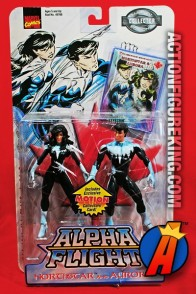 1999 Alpha Flight NORTHSTAR and AURORA action figures from TOYBIZ