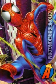 Ultimate style art for this RoseArt Spider-Man Webslinger Puzzle.