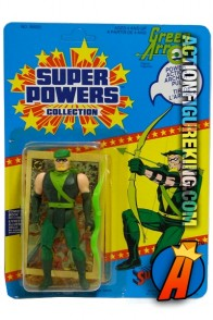 Vintage Kenner Super Powers Collection Green Arrow figure.