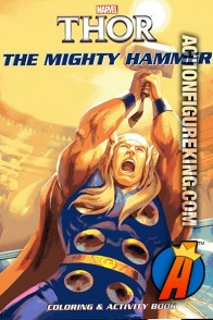 Marvel's Thor The Mighty Hammer Coloring and Activity Book.