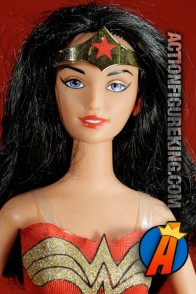DC Comics presents this Barbie Wonder Woman figure.