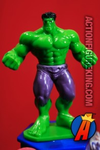 Marvel Avengers Assemble HULK PVC figure with fan and candy.