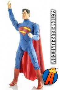 DC COMICS SUPER-HEROES 14-INCH SUPERMAN ACTION FIGURE from MEGO CORPORATION circa 2019