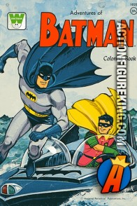 1966 Adventures of Batman Coloring Book from Whitman.