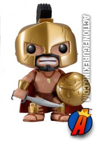 Funko Pop! Movies The 300 Leonidas vinyl bobblehead figure.