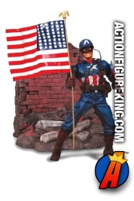 Marvel Select Captain America Steve Rogers figure from Diamond.