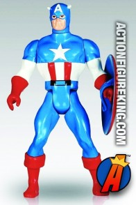 Marvel Super Heroes Secret Wars Jumbo CAPTAIN AMERICA Action Figure.