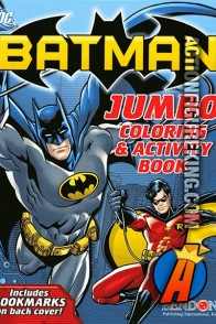 Batman Jumbo Coloring Book from Bendon.