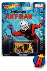 The Astonishing Ant-Man Bread Box vehicle from Hot Wheels.