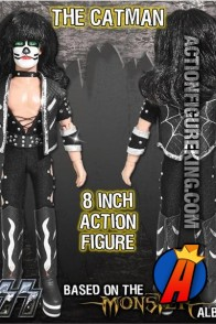 KISS The Catman Action Figure from Monster Series 4 by Figures Toy Company.