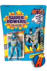 Vintage Kenner Super Powers Batman action figure.