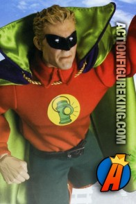 13-inch Alan Scott Golden Age Green Lantern with authentic fabric outfit.