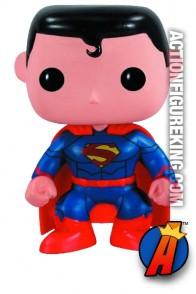 Funko Pop Heroes New 52 Superman figure.