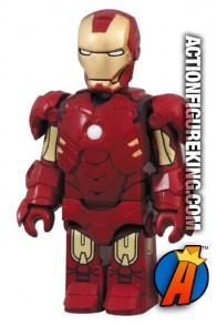 Minature Medicom Kubrick Iron Man 2 Mark IV action figure.