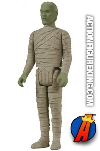 A packaged sample of this ReAction The Mummy figure from Funko.
