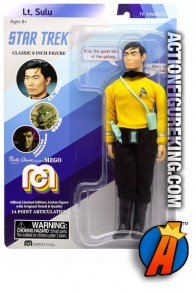 2018 LIMITED EDITION TARGET EXCLUSIVE MEGO STAR TREK SULU 8-INCH ACTION FIGURE