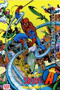 Whitman The Amazing Spider-Man 300-piece souvenir jigsaw puzzle (7913).