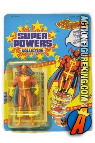 Vintage Kenner Super Powers Red Tornado action figure.