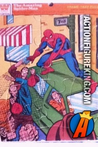 Spider-Man 12-piece Frame-Tray Puzzle from Whitman.
