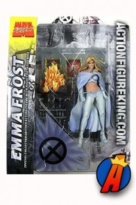 Marvel Select 7-inch scale Emma Frost the White Queen from Diamond.