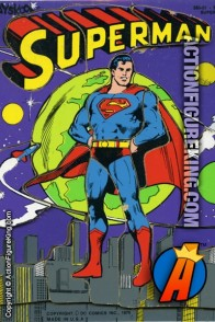 1976 Superman 18-piece tray-puzzle from Playskool.