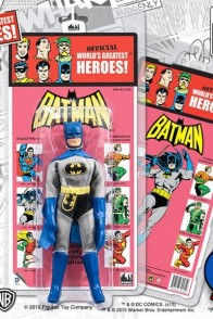 Retro Packaged Kresge Batman Action Figure.