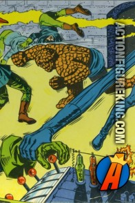 Vintage Marvel Super-Heroes Puzzle from Milton Bradley featuring the Fantastic Four.