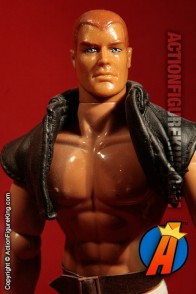 Custom sixth-scale Doc Savage action figure with cloth outfit.